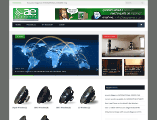 aespeakers.com screenshot