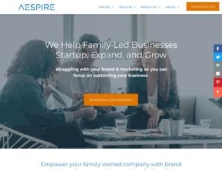 aespire.com screenshot