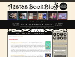 aestasbookblog.com screenshot
