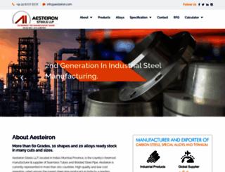 aesteiron.com screenshot