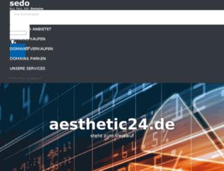aesthetic24.de screenshot