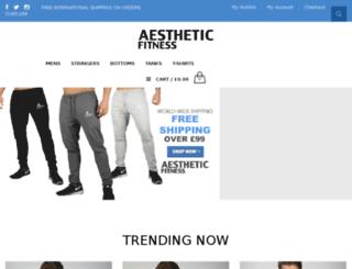 aestheticfitness.org screenshot