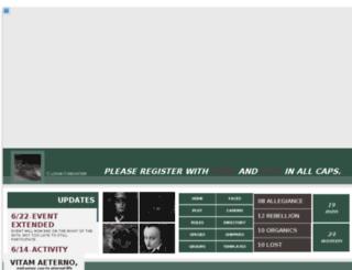 aeterno.jcink.net screenshot