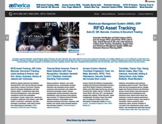 aetherica.com screenshot