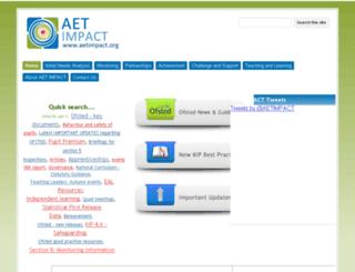 aetimpact.org screenshot