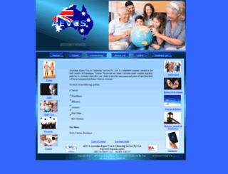 aevcsmigration.com screenshot