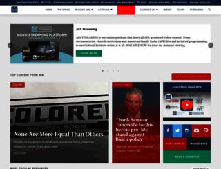 afa.net screenshot