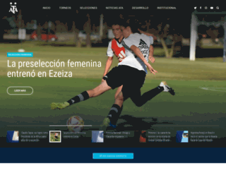 afa.org.ar screenshot