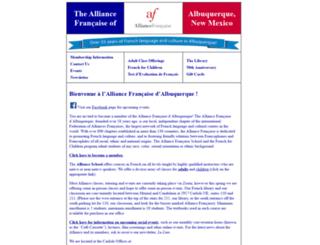 afabq.com screenshot