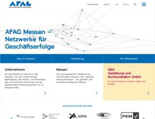 afagweb2.afag.de screenshot