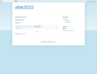 afak2022.blogspot.com screenshot