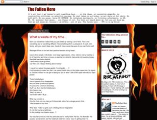 afallenhero.blogspot.com screenshot