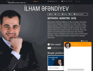 afandiyev.com screenshot