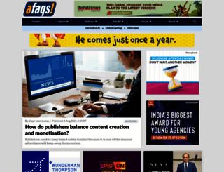 afaqs.com screenshot