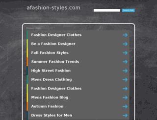 afashion-styles.com screenshot