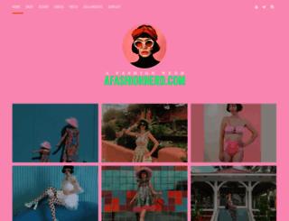 afashionnerd.com screenshot