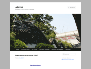 afc56.asso.fr screenshot