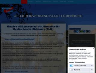 afd-stadtoldenburg-ammerland.de screenshot