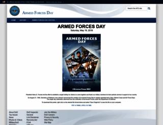 afd.defense.gov screenshot