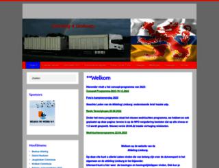 afdeling-limburg.nl screenshot