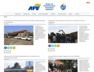 afe.com.uy screenshot