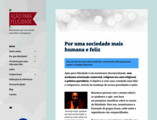 afelicidade.org screenshot