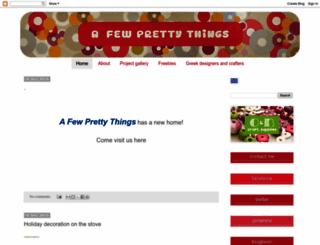 afewprettythings.blogspot.com screenshot