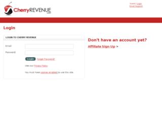 aff.cherryrevenue.com screenshot