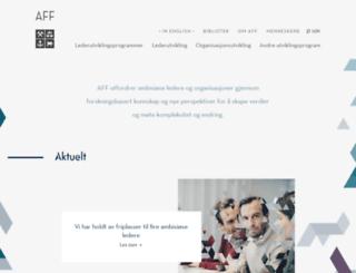 aff.no screenshot