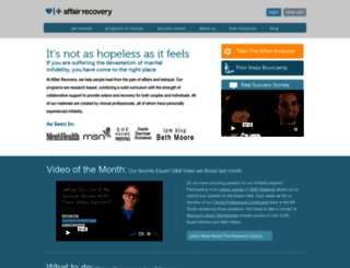 affairrecovery.com screenshot