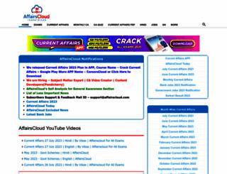 affairscloud.com screenshot
