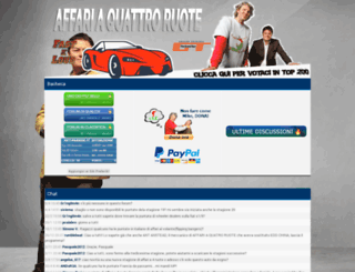 affariaquattroruote.forumcommunity.net screenshot
