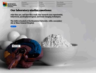 affective-science.org screenshot