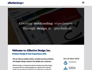 affectivedesign.com screenshot