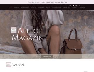 affectmagazine.com screenshot
