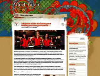 affecttalent.wordpress.com screenshot