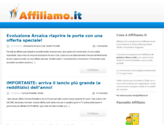 affiliamo.it screenshot