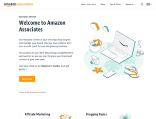 affiliate-blog.amazon.co.uk screenshot