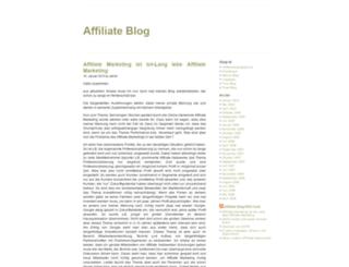 affiliate-blog.de screenshot