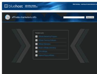 affiliate-marketers.info screenshot