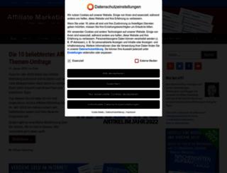 affiliate-marketing-tipps.de screenshot