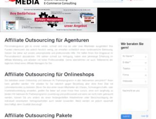 affiliate-outsourcing.de screenshot
