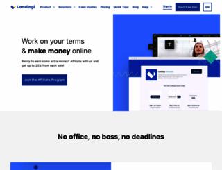 affiliate-program.landingi.com screenshot