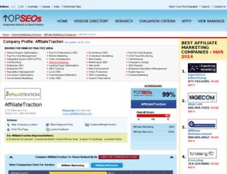 affiliate-traction.topseos.com screenshot