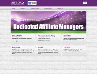 affiliate.betdaqaffiliates.com screenshot