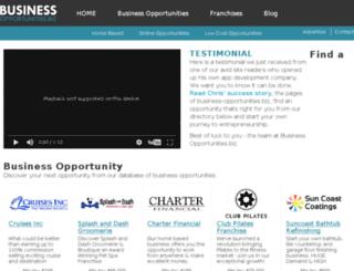 affiliate.business-opportunities.biz screenshot