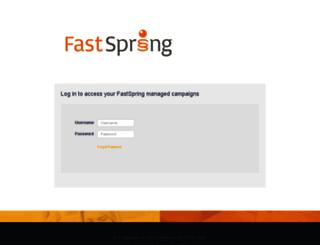 affiliate.fastspring.com screenshot