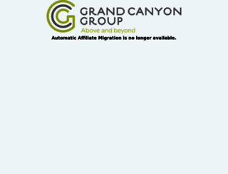 affiliate.grandcanyononepoint.com screenshot