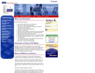 affiliate.ihsadvantage.com screenshot