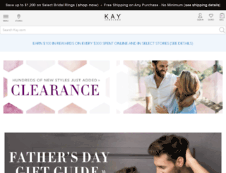affiliate.kay.com screenshot
